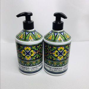2 X Lemon Verbena Hand Soap 650 ml (22 fl oz) Each